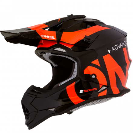 CASCO 2SERIES RL SLICK BLACK/ORANGE