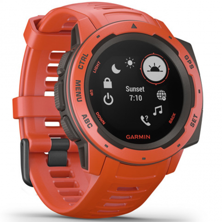 OROLOGIO INSTINCT GPS FLAME RED