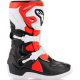 STIVALE TECH 3S KIDS BLK/WHT/RED FL