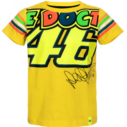T-SHIRT THE DOCTOR 46 KID YELLOW