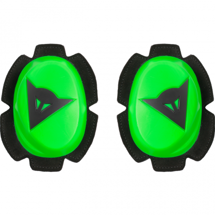 PISTA KNEE SLIDER FLUO GREEN/BLACK