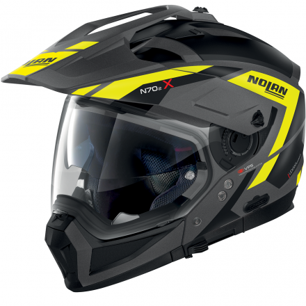 CASCO N70-2 X GRANDES ALPES FLAT LAVA GREY 023