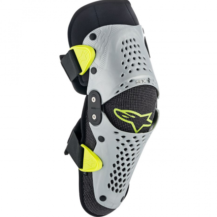 GINOCCHERA SX-1 YOUTH SILVER/YELLOW FL