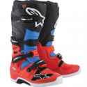 STIVALE CROSS TECH 7 RED FL/CYAN/GRY/BLK