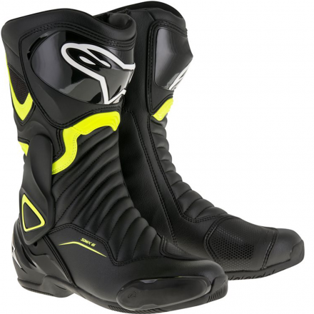 STIVALE SMX-6 V2 BLACK/YELLOW FLUO