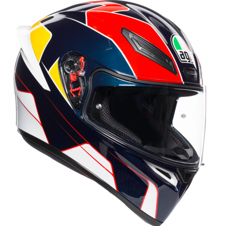 CASCO K1 MULTI PITLANE BLUE/RED/YELLOW