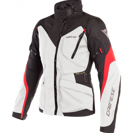 GIACCA TEMPEST 2 LADY D-DRY LGHT GRY/BLK/TOUR RD