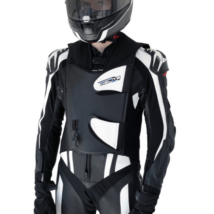 AIRBAG GP AIR 2 PELLE BLACK/WHITE