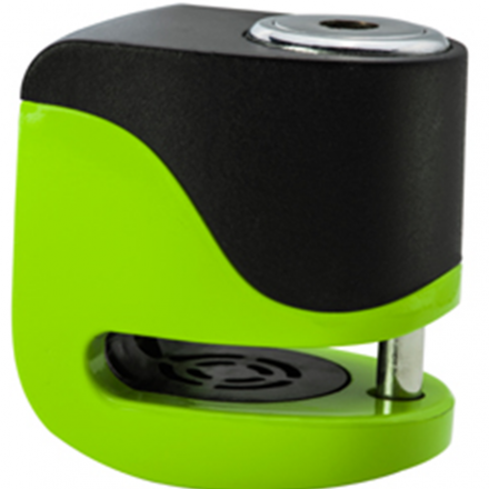 MINI LOCK ALLARMATO RICARICABILE FLUO VERDE