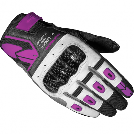 GUANTO G-CARBON LADY BLACK/FUCHSIA