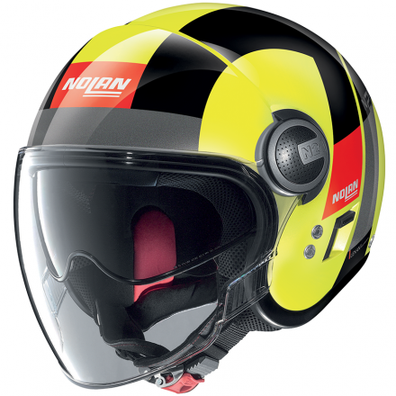 CASCO N21 VISOR SPHEROID LED YELLOW 047