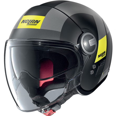 CASCO N21 VISOR SPHEROID FLAT BLACK 049