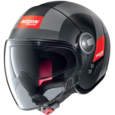 CASCO N21 VISOR SPHEROID FLAT BLACK 051