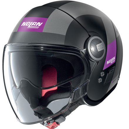 CASCO N21 VISOR SPHEROID FLAT BLACK 052