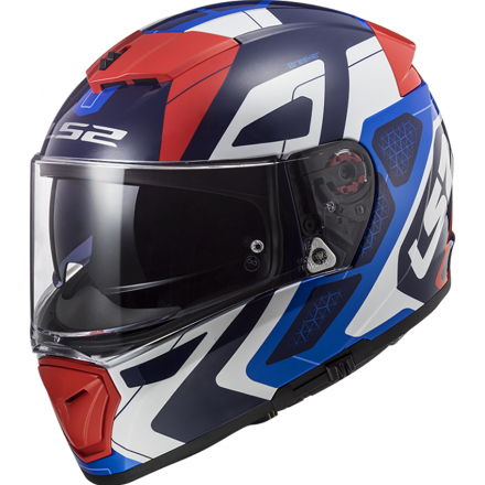 CASCO FF390 BREAKER ANDROID BLUE/RED