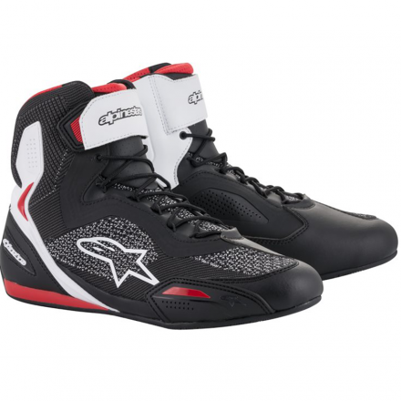 SCARPA FASTER-3 RIDEKNIT BLACK/WHITE/RED
