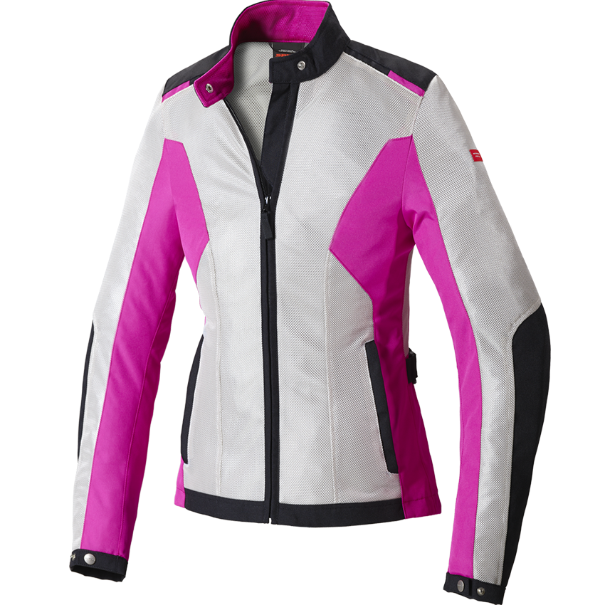 Giacca Moto Spidi Flash Lady H2Out NeroFucsia questo