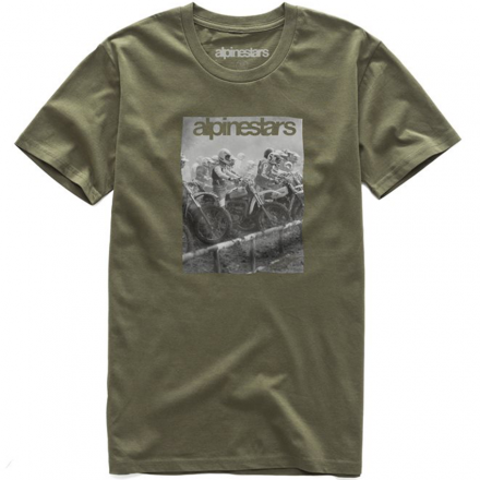 T-SHIRT REMINISCE MILITARY GREEN