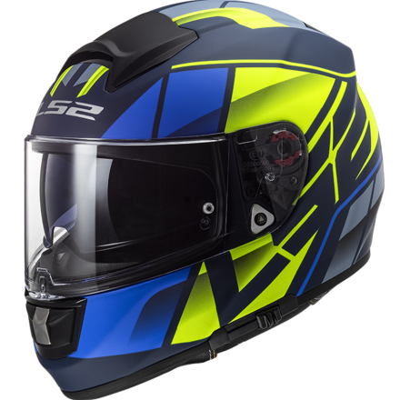 CASCO FF397 VECTOR FT2 KRIPTON MATT BLU/HI VIS