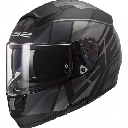 CASCO FF397 VECTOR FT2 RIPTON MATT BLK/TITAN
