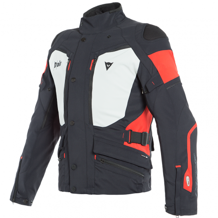 GIACCA CARVE MASTER 2 D-AIR BLK/LGT GRY/RD