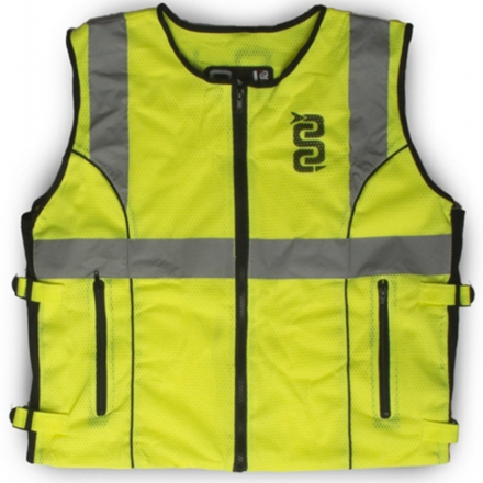 GILET ALTA VISIBILITA' NET FLASH