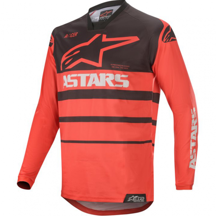 MAGLIA RACER SUPERMATIC BRIGHT RED/BLACK