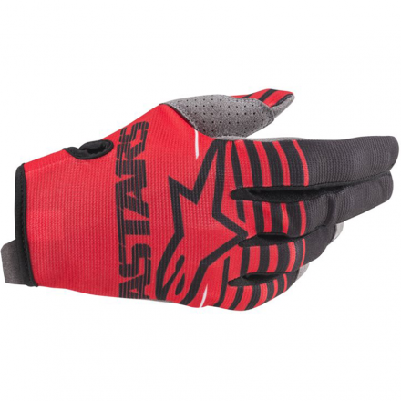 GUANTO YOUTH RADAR BRIGHT RED/BLACK