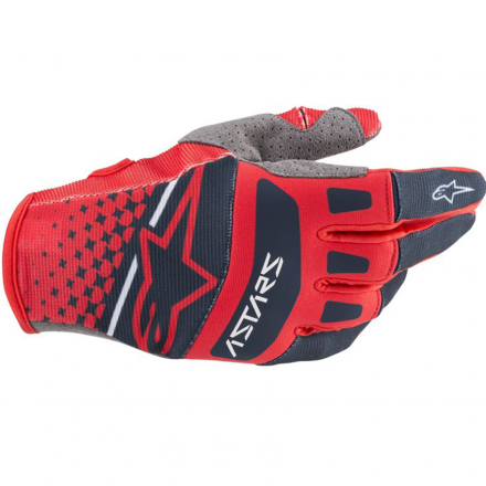 GUANTO TECHSTAR BRIGHT RED/NAVY