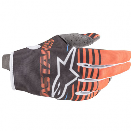 GUANTO RADAR ANTHRACITE/ORANGE FLUO