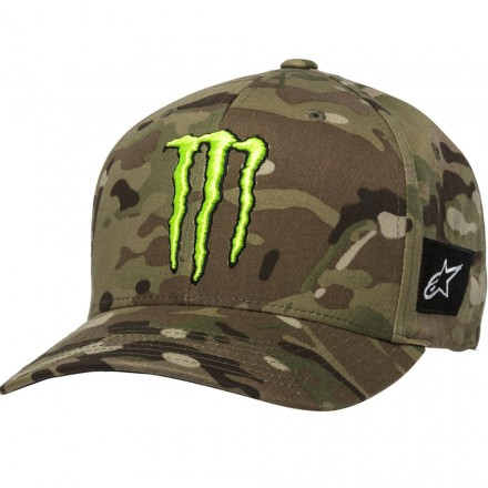 CAPPELLO MONSTER MULTICAMO GREEN