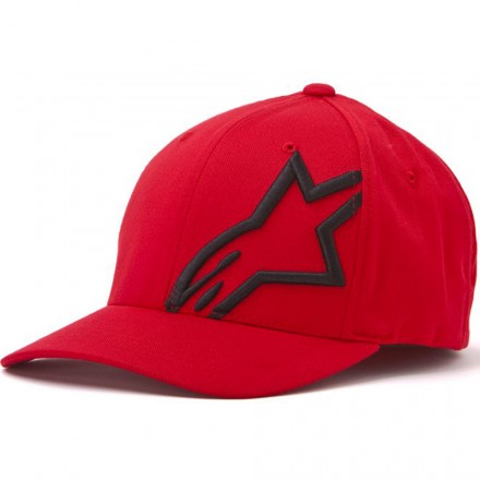 CAPPELLO CORP SHIFT 2 FLEXFIT RED/BLK