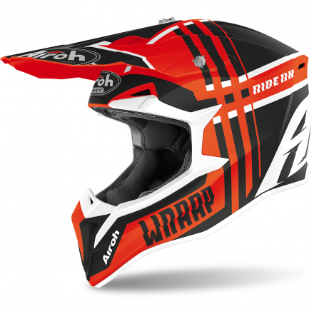 CASCO CROSS WRAAP BROKEN ORANGE MATT