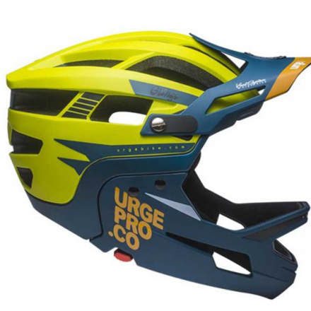CASCO URGE BP GRINGO DE LA PAMPA LIME/BLUE