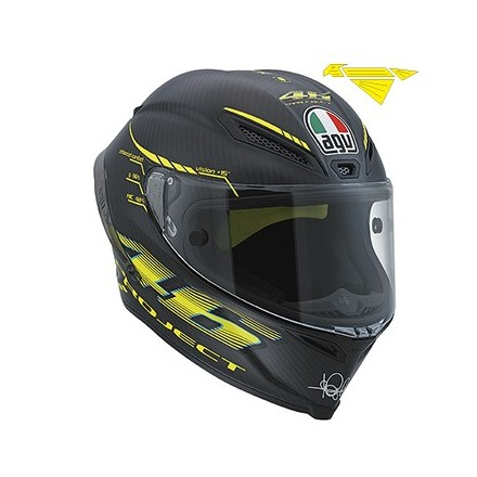 CASCO PISTA GP TOP PROJECT 46 2.0 CARBO