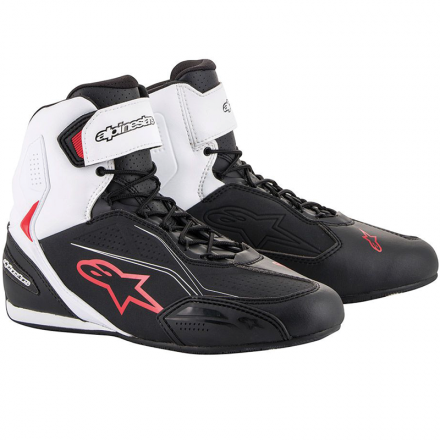 SCARPA FASTER-3 BLACK/WHITE/RED