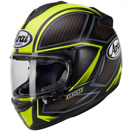 CASCO CHASER-X SPINE FLUOR YELLOW