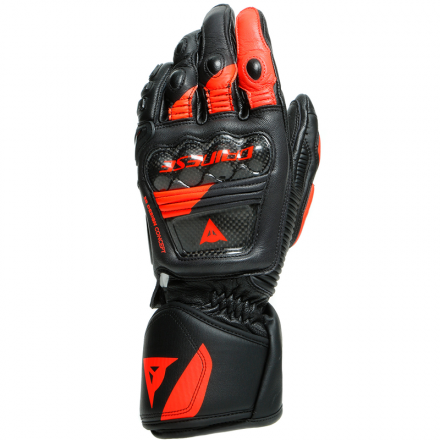 GUANTO DRUID 3 BLACK/FLUO RED
