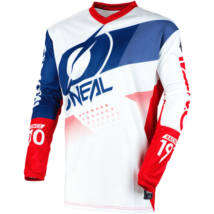 MAGLIA ELEMENT FACTOR WHITE/BLUE/RED