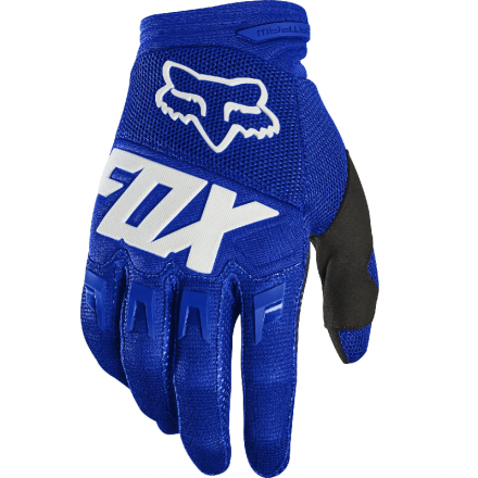 GUANTO DIRTPAW RACE BLUE/WHITE