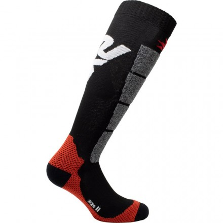 CALZA LUNGA RINFORZATA BLACK/RED