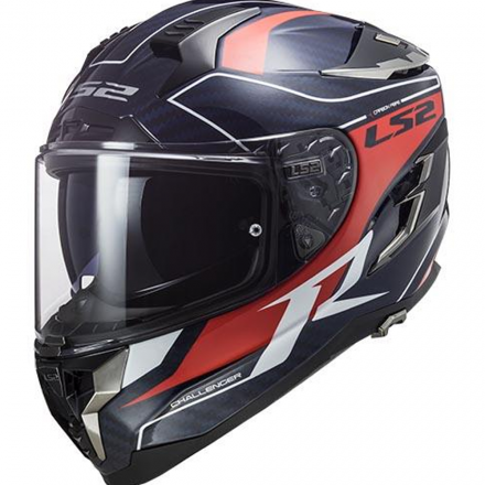 CASCO FF327 CHALLENGER CT2 GRID BLU/CRB RED
