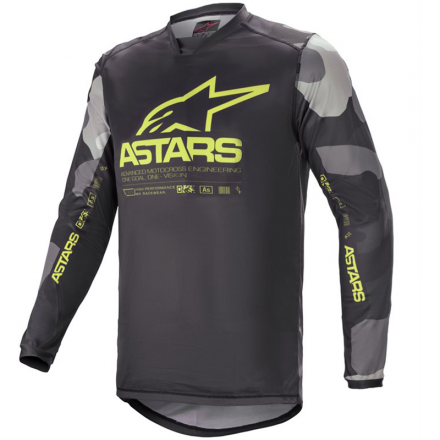 MAGLIA RACER TACTICAL GRY/CAM/YLW FL