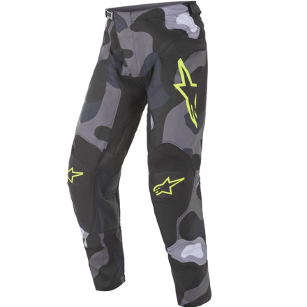 PANTALONE RACER TACTICAL GRY/CAM/YLW FL