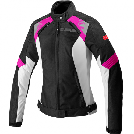 GIACCA FLASH EVO LADY NERO/FUCHSIA