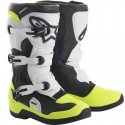 STIVALE 3S YOUTH BLACK WHITE YELLOW FLUO