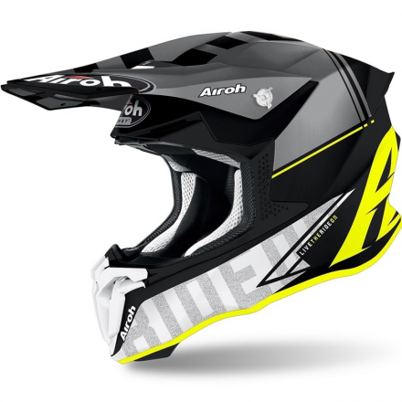 CASCO TWIST 2.0 TECH YELLOW MATT