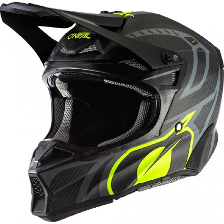 CASCO 10SRS CARBON RACE BLACK/NEON