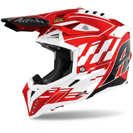 CASCO AVIATOR RAMPAGE RED GLOSS