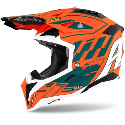 CASCO AVIATOR 3 RAMPAGE ORANGE MATT